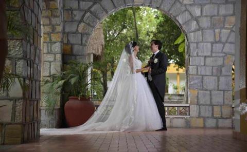Enlace matrimonial de Cecilia y Pedro Vázquez