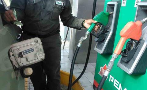 Frenarán alza a la gasolina