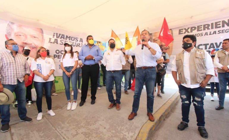 Crece el respaldo a Octavio Pedroza