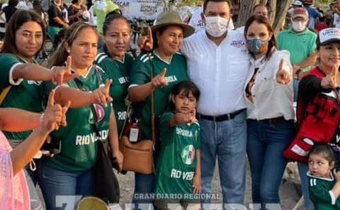 Arnulfo Urbiola Román recorrió comunidades