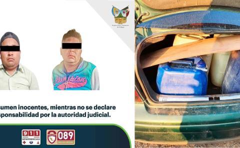 Aseguran 2 mil litros de combustible y cuatro vehículos En Cuautepec