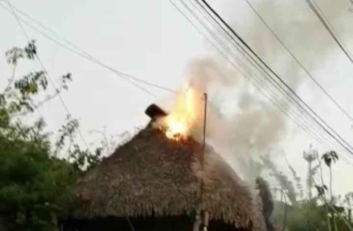Ardió vivienda
