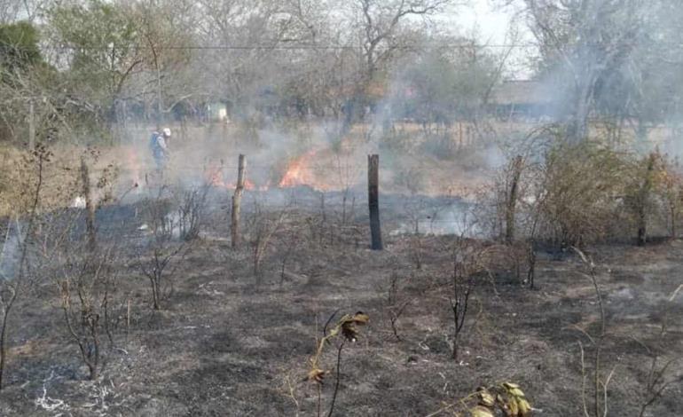 Incendio por culpa de CFE