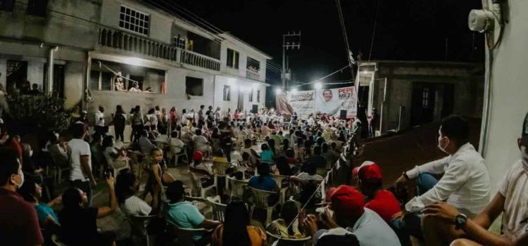 Con Pepe Meza el ganador será el pueblo: ciudadanos