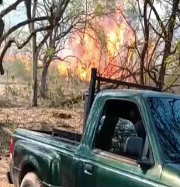 Incendios fuera de control en La Calera