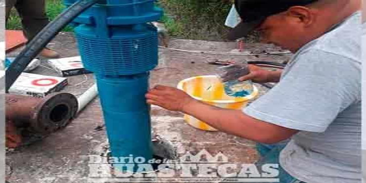 Mantenimiento a bombas de agua
