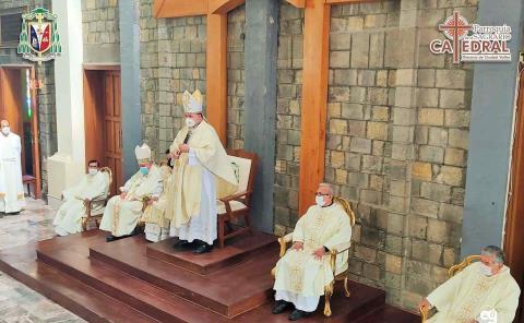 Celebran 60 años del primer Obispo
