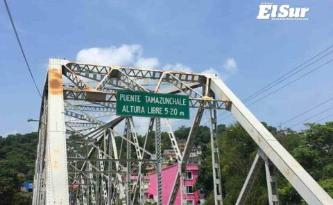 Piden valoración al puente metálico