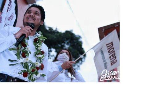 Ratificaron candidatura de Oscar Márquez P.