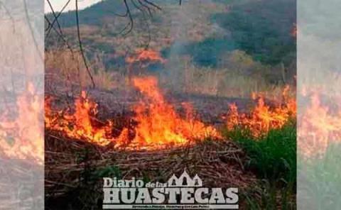 Alertan contra los incendios