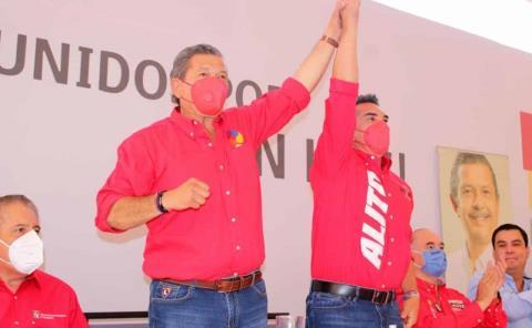 PRI en total apoyo a Octavio Pedroza