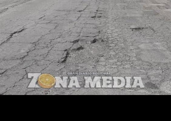 Pésima la carretera de Rayón-Lagunillas