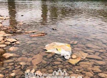 Convertido en basurero clandestino por bañistas