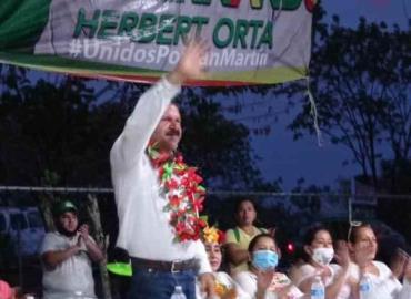 Luis Fernando Herbert apoyará a agricultores