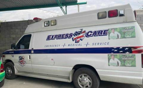 La ambulancia es de mi propiedad