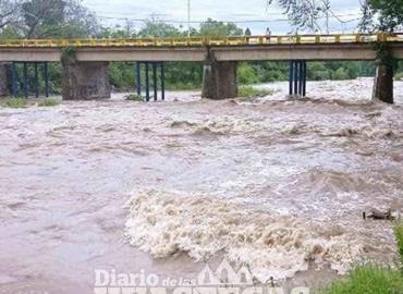 Aumentó el caudal del río