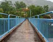 Piden ciudadanos mejor iluminación en puente de la Plazoleta