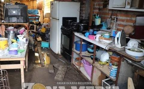 Reportan riesgo de inundaciones