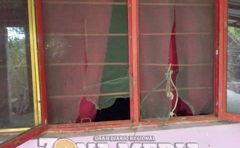 Hurtan hogar en barrio Orégano