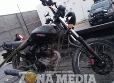 Dos motociclistas marihuanos presos