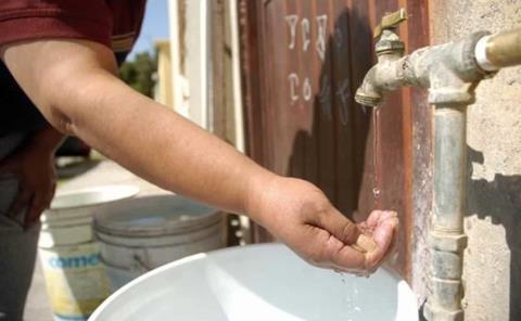 Escasea el agua