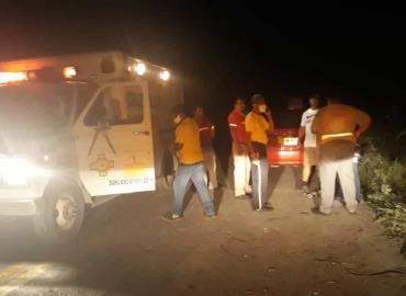 Fuente de accidentes camino a Pujal-Coy