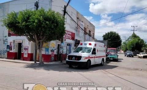 Fémina que enfermó la atendió Cruz Roja