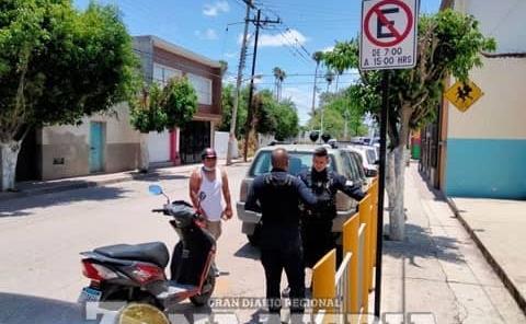 Menor detenido por la municipal