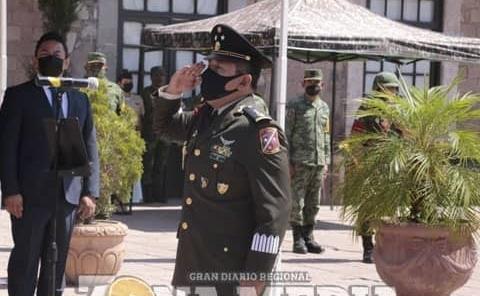 Nuevo comandante en la XII Zona Militar