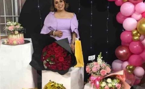 Celebró en familia Mariana Sánchez