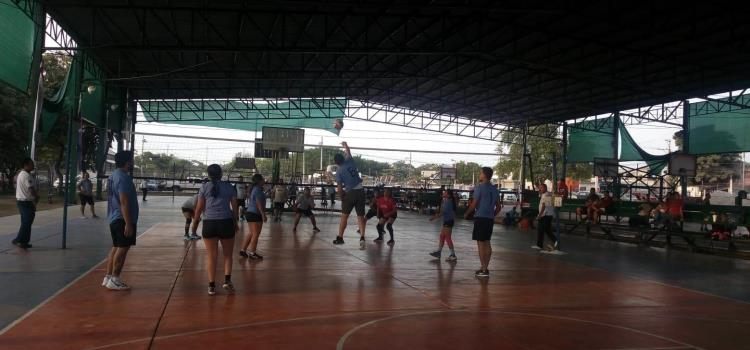 Siguen las acciones del Voleibol Mixto