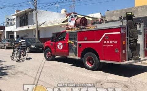 Falsa alarma por auto incendiando