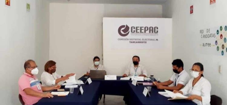 Comisión Distrital estima recibir 120 mil boletas