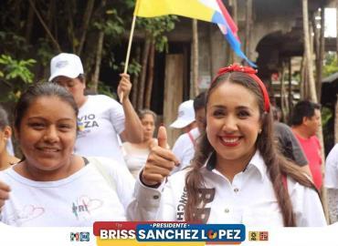 Rodada en apoyo a Briss Sánchez