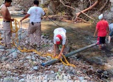 Protección Civil realiza limpieza
