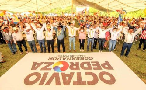 CNC respalda a Octavio Pedroza