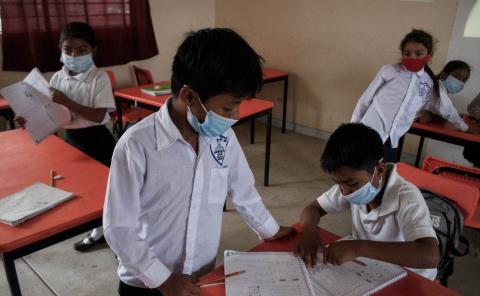 Iniciaron protocolos sanitarios en escuelas
