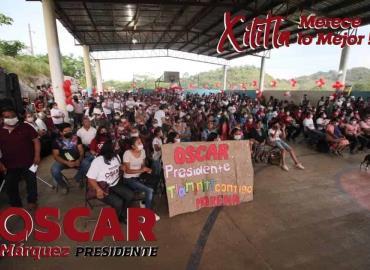 Más comunidades al proyecto de Óscar