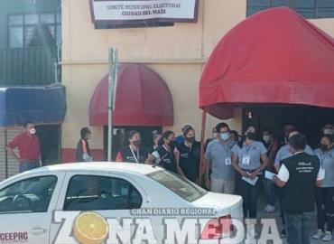 24,500 boletas llegaron  para el evento electoral