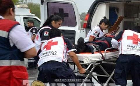 Motociclista derrapó en camino El Capulín