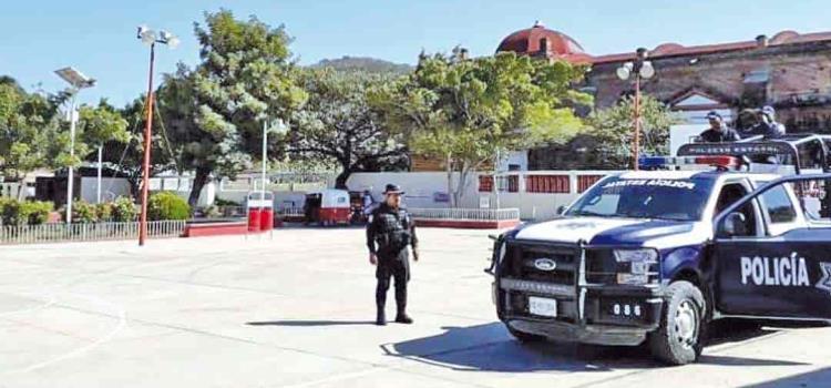 1,800 policías vigilarán las elecciones