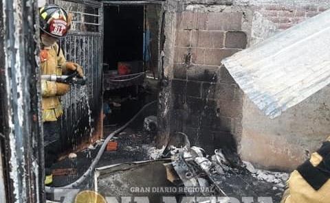 Piromaniaco incendió casa
