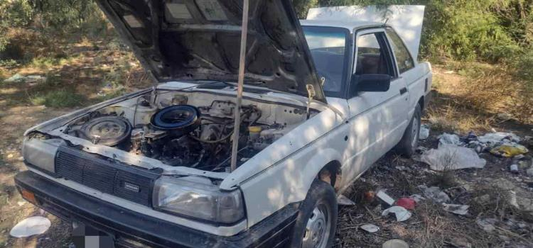Recuperó la DSP vehículos robados