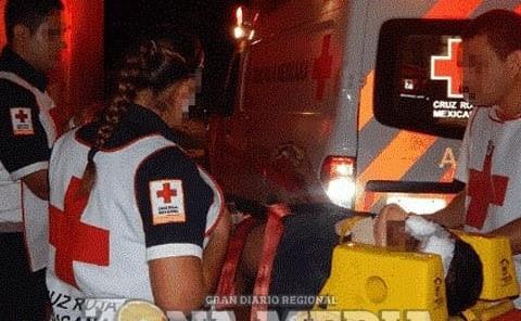Motociclista lesionado, chocó con camioneta