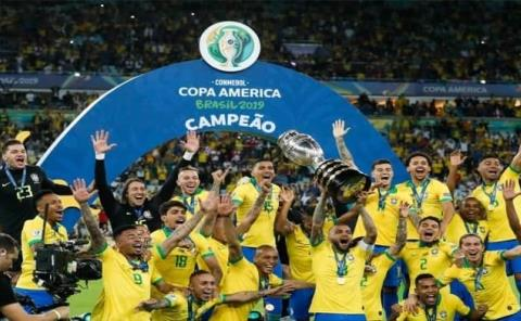 Copa América se jugará en Brasil