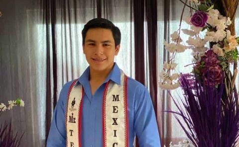 Héctor Reazola Azuara es Mr. Teen Universal México 2021