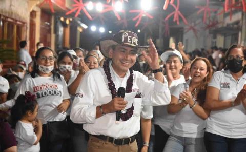 Pepe Meza está imparable consolidando su triunfo