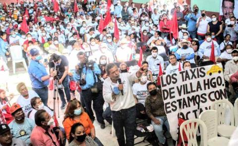PRI y Antorcha llaman a votar por Octavio