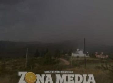 Alertan por tormentas eléctricas en la sierra