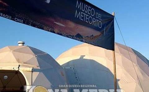 Proyectan inaugurarse el Museo del Meteorito